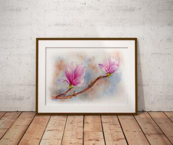 Elżbieta Wituła - magnolia